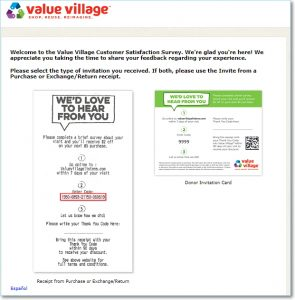 Value village listens.com homepage